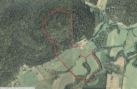 property lines map kentucky farms sale farm land acreage for sale kentucky waterfront farm for sale by owner