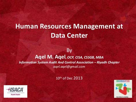 Information On Mba In Human Resources by Managing Human Resources At Data Centers 1 0