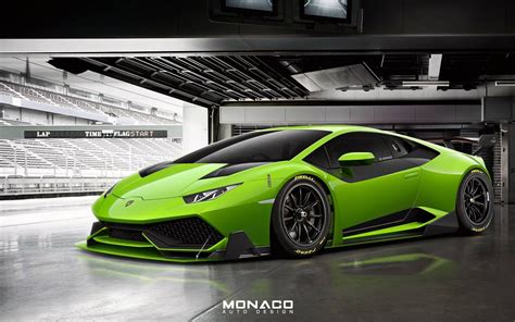 Lamborghini Racer Lamborghini Huracan Rendered As Trofeo Racer
