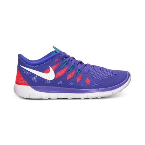 Sepatu Nike Flywire 50 Purple nike free 50 running sneakers from finish line in purple for lyst