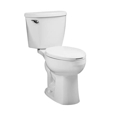 comfort toilet shop american standard mainstream white 1 28 gpf 4 85 lpf