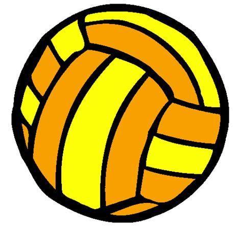 Dessin De Ballon De Volley Ball Colorie Par Membre Non Inscrit Le