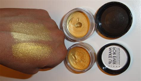 what colors make gold the fancy make up for mufe aqua colors
