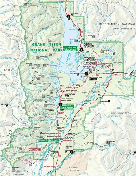 grand teton national park map week 3 frans en jolanda usa 2014