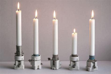 kerzenhalter für flammenlose kerzen kerzenst 228 nder basteln bestseller shop mit top marken