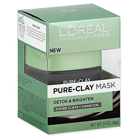 L Oreal Detox Mask Beautypedia by L Or 233 Al 174 Skin Expert 1 7 Oz Detox Brighten Clay