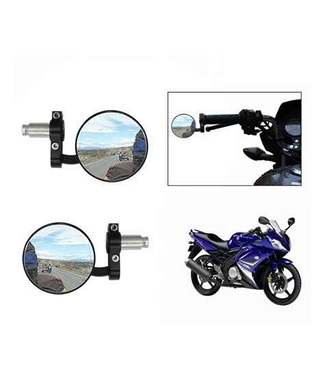 Handgrip Yamaha R15 Speedwav Bike Handle Grip Rear View Mirror Black For