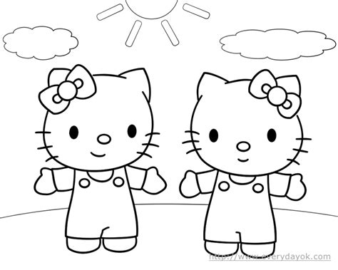 hello kitty coloring pages full size hello kitty coloring pages free printable pictures