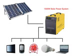 home solar power system 1 5kw solar electricity generating system for home