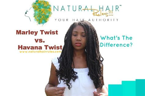 marley vs cuban hair marley twists and havana twists what s the difference