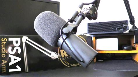 Rode Psa1 Studio Boom Arm rode psa1 studio arm demonstration rode psa1 swivel mount studio microphone boom arm