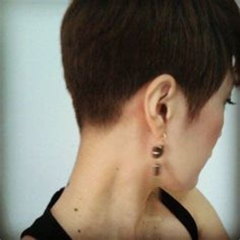 pics of the back of a pixie clipper cut nape clipper cut for women s clippered nape clippering