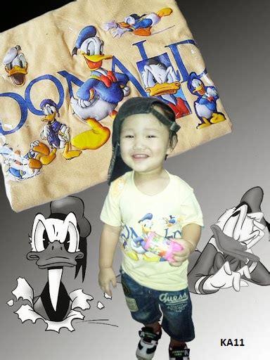 baju anak karakter kartun  animasi jual kaos