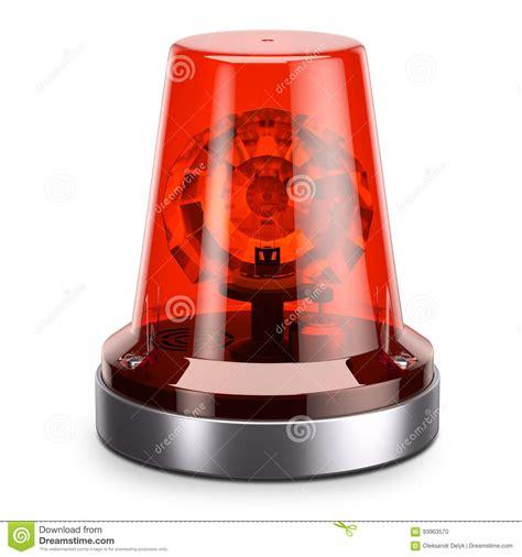 red and white emergency lights emergency red siren light stock illustration illustration