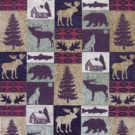 Lodge Upholstery Fabric by Upholstery Fabric Fairbanks Evergreen Lodge Cabin Rustic