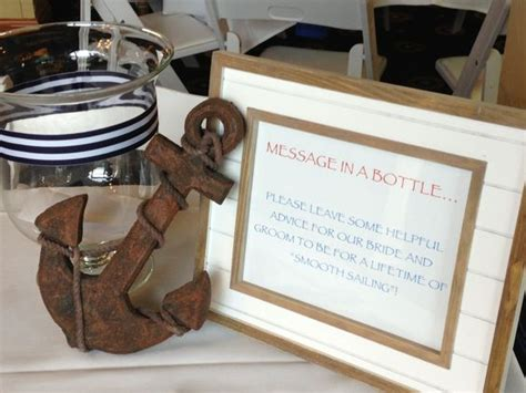 Wedding Wishes Nautical by Nautical Wedding Shower Message In A Bottle For Smooth