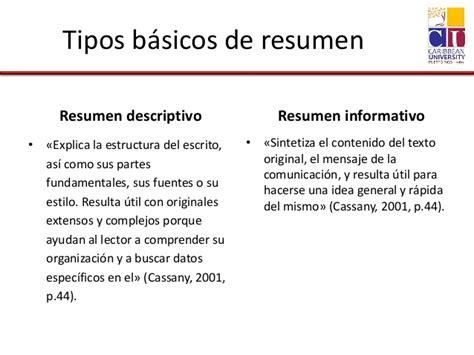 Resumen Y Sus Partes by El Resumen