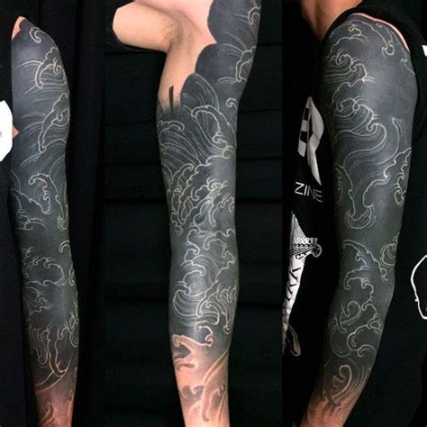 solid black tattoo sleeve pin by vitaliya dolche on