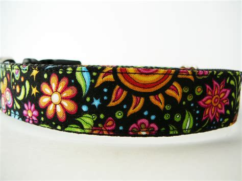 pretty collars collar quot cosmic garden quot pretty collar with sun moon flowers and