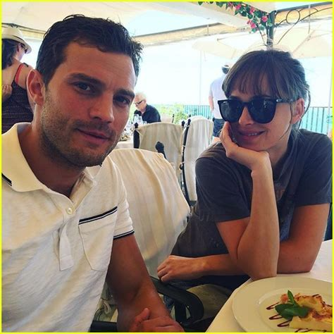 fifty shades of grey actors pictures fifty shades e l james shares behind the scenes photos