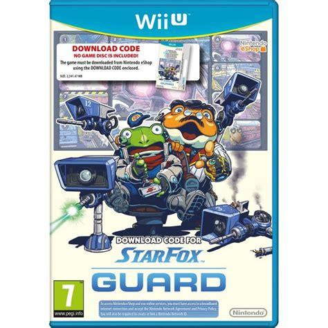 Kaset Cd Nintendo Wii U Fox Zero Wii U fox guard wii u tarjeta con c 243 digo de descarga juegos wii