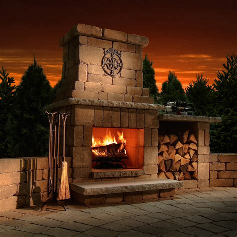 outdoor fireplace buying guide fireplace styles fuel