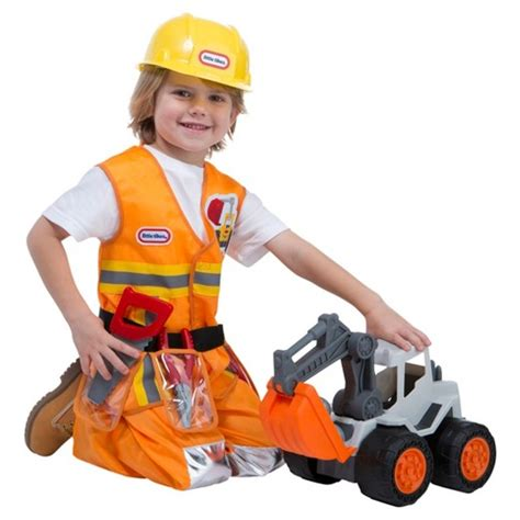 tikes 174 construction worker toddler costume target