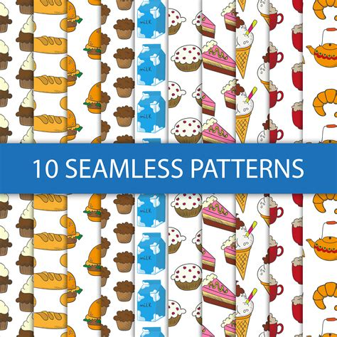 seamless pattern brush photoshop seamless patterns with food photoshop vectors