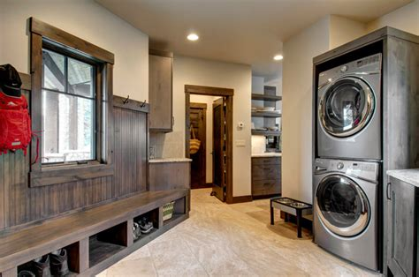rustic laundry room country mudrooms pinterest laundry mudroom rustic laundry room denver by