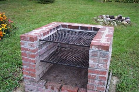 backyard bbq pits designs brick bbq fire pits outdoor