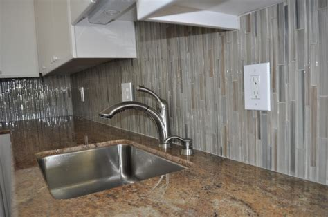 Installing Glass Tile Related Keywords Suggestions For Mosaic Backsplash