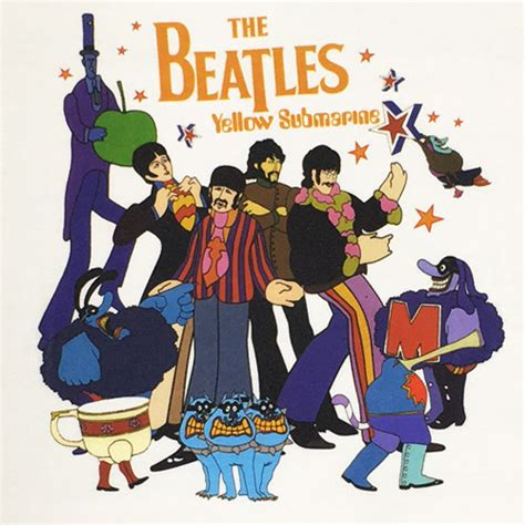 Tees The Beatles the beatles yellow submarine tee グッズ ザ ビートルズ the