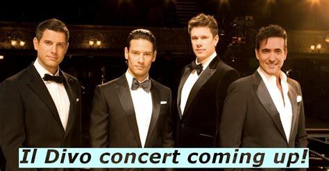 il divo tour dates il divo concert dates