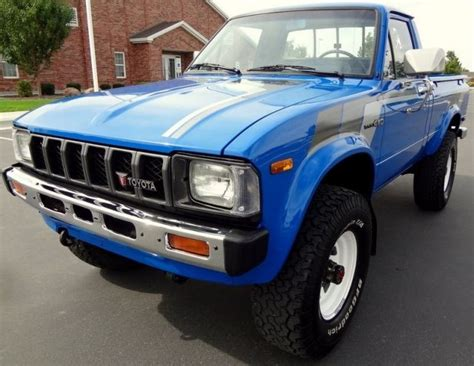 1982 Toyota Truck Toyota Hilux Sr5 1982 M Up Toyz