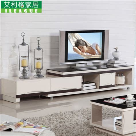 retractable tv cabinet living room furniture buy minimalist living room tv cabinet retractable glass coffee table modern furniture sets dsg