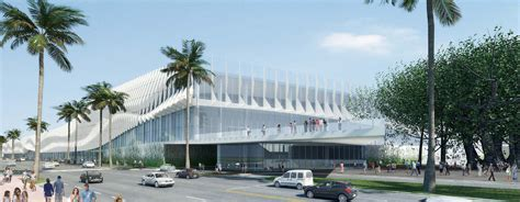 home design miami convention center fentress releases design for miami convention center archdaily