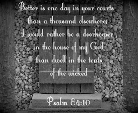 better is one day better is one day in your courts than a thousand elsewhere