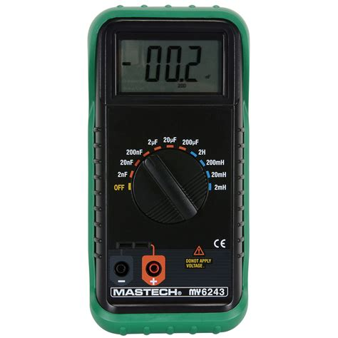 capasitor meter portable digital lc inductance capacitance meter