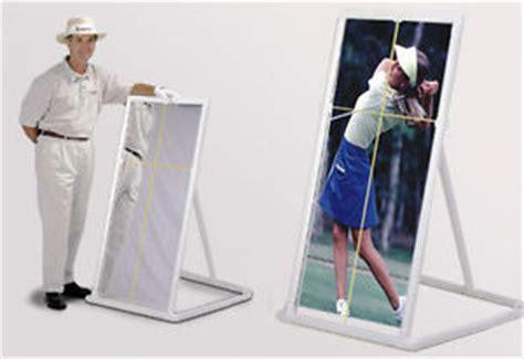 pvc swing trainer pvc sports teaching and training 2x4 range mirror golf