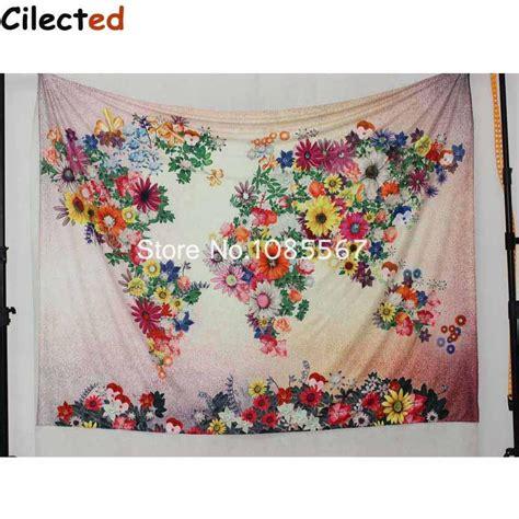 150cmx130cm Boho Wall Carpet Tapestry Mandala Tapestry 9 new colorful world map printed mandala tapestry wall