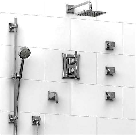 All Modern Bathroom Accessories Riobel Eiffel Collection Type T P Shower System Kit 642efl