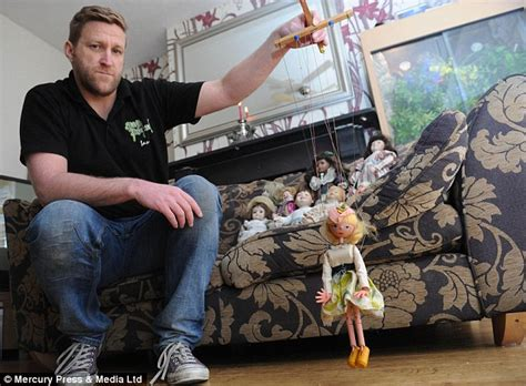 haunted doll names claims his collection of dolls is haunted by the