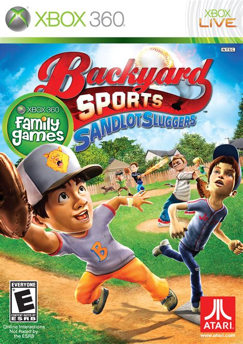 backyard sports video games sandlot sluggers its out of the park fun game giveaway