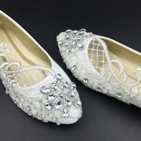 S Wedding Flats by Wedding Flats Bridal Ballet Shoes Comfortable Flats Lace