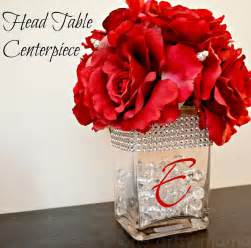 Bling Wedding Vases Head Table Centerpiece David Tutera Bridal One Artsy Mama