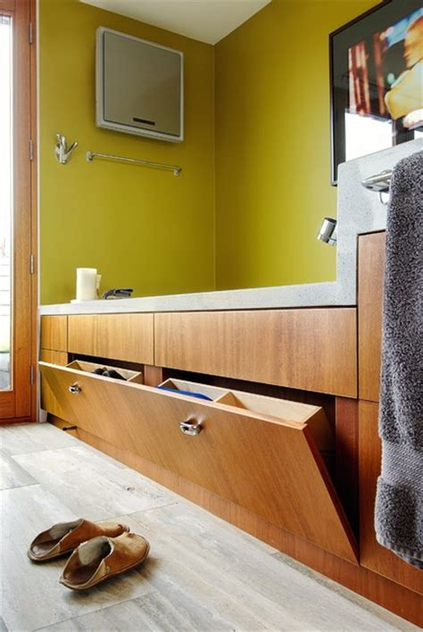 my houzz bathtub storage transitional bathroom