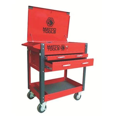 Matco 4 Drawer Tool Cart by Two Drawer Service Cart Msc2 R Matco Tools