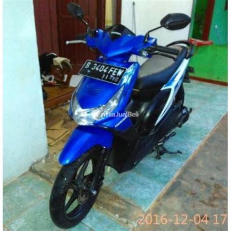 Bekasi Motor Beat Bekas motor matik bekas honda beat cw karbu tahun 2011 biru