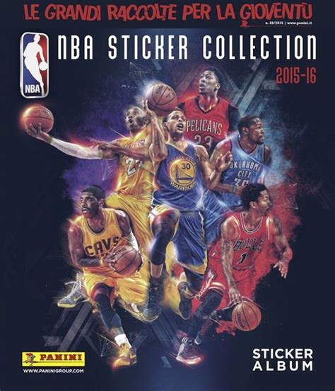 Kartu Basket 2017 Panini Bryant nba sticker collection 2015 16 fumetterie panini store