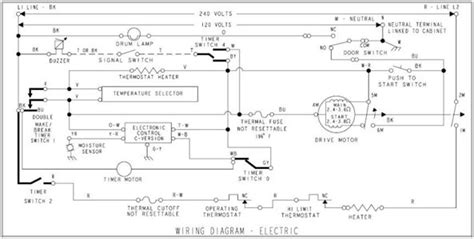 kenmore 80 series dryer timer wiring diagram kenmore